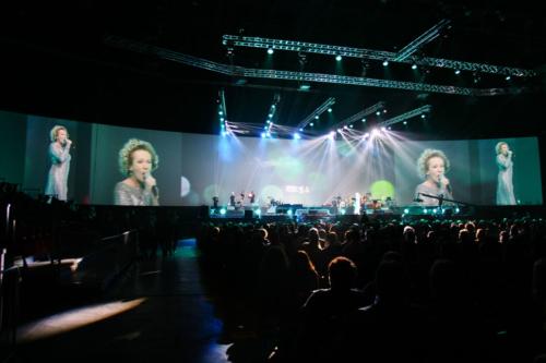 Entertainment während der OTP Bank Gala