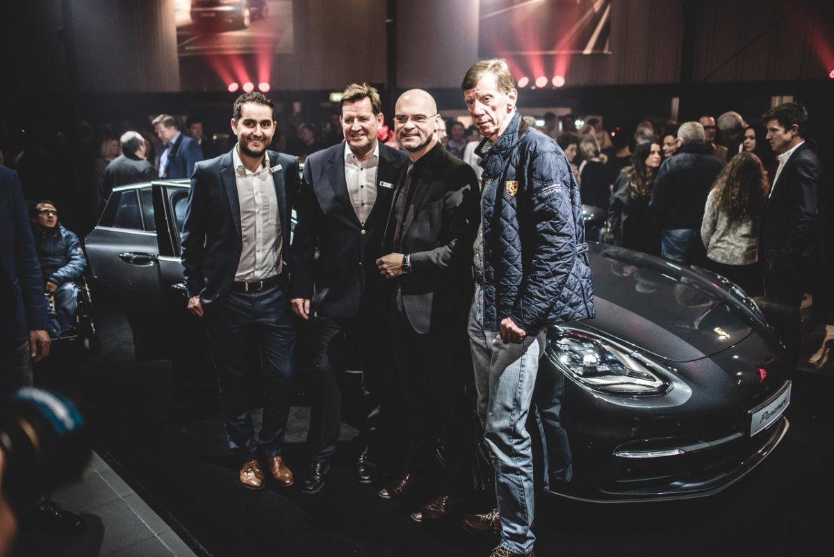 VIPs bei Porsche